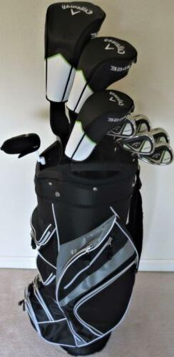 Callaway Mens Complete Golf Set - Driver, Wood, Hybrid, Iron
