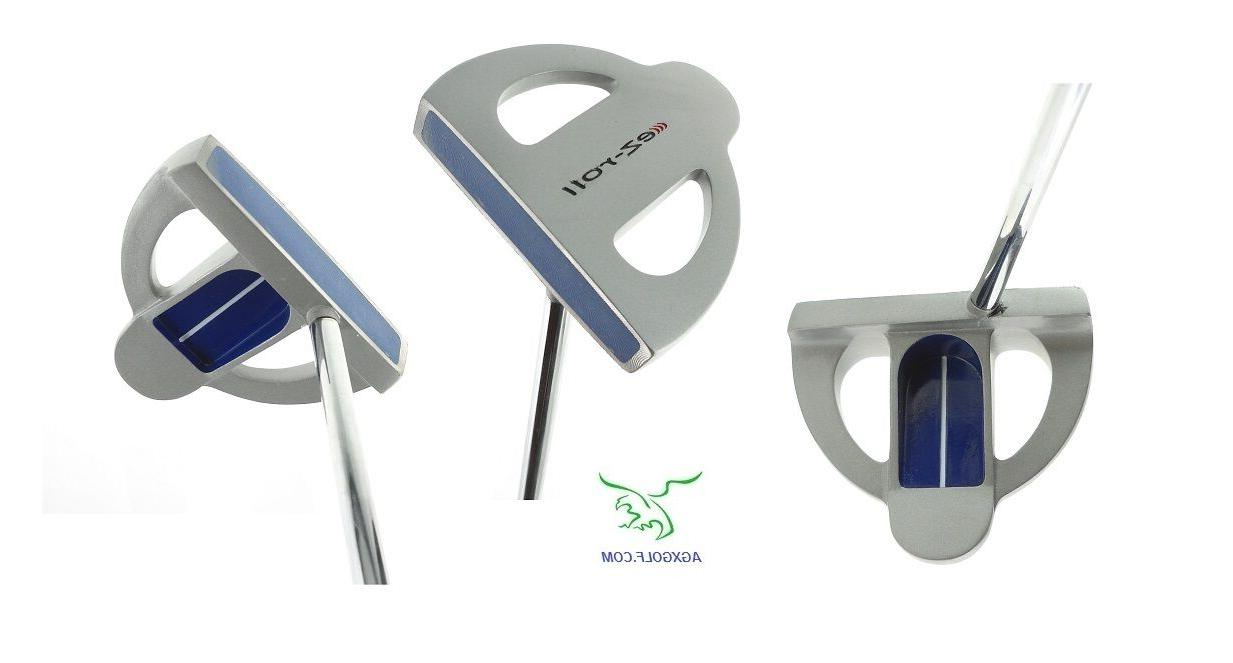 ladies ez two ball type putter polymer