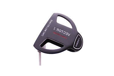 mens vector series two ball style putter