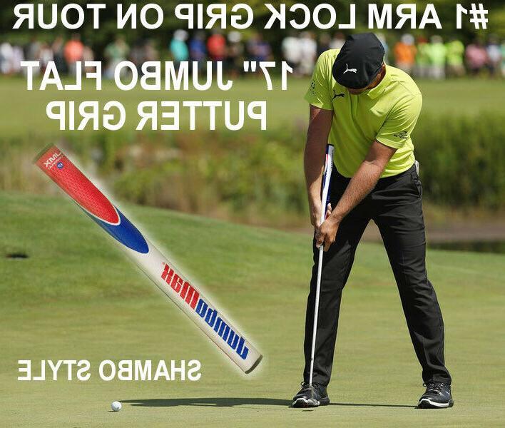 new 17 long golf putter grip black