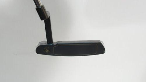 New! HONMA BERES BLACK Japan Sakata PUTTER w/HEADCOVER RH