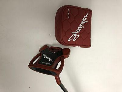 new spider tour putter see drop down