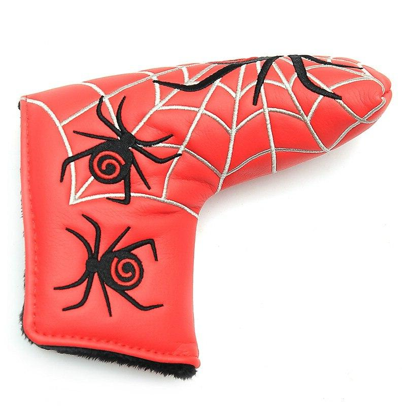 New Spider With Web Putter Cover <font><b>Headcover</b></font> Cameron Ping Blade Putter Head Covers