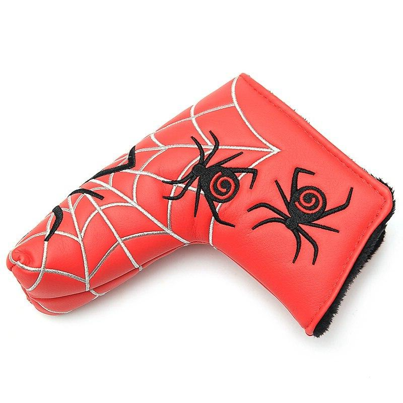 New Silver Web Golf Cover <font><b>Headcover</b></font> For Scotty Ping Putter Head
