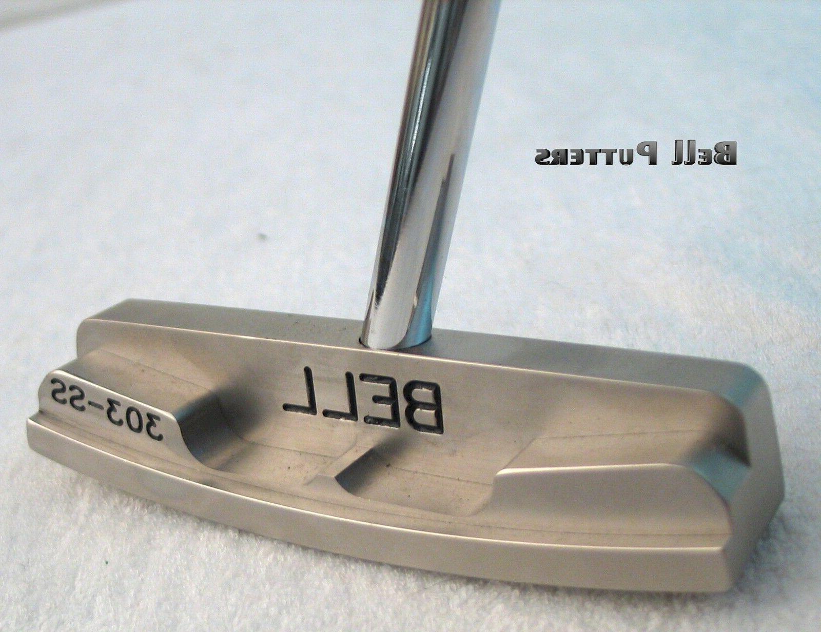 non offset golf putter 360 rh face
