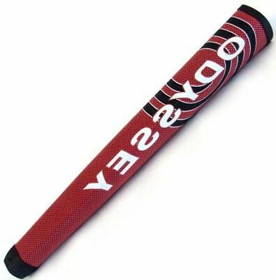 NEW Odyssey Oversize/Jumbo Red/Black Putter Grip
