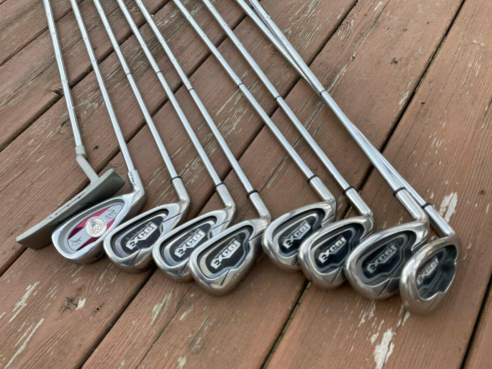 Pinemeadow Excel 5-PW,SW + Daly Iron & Putter Steel