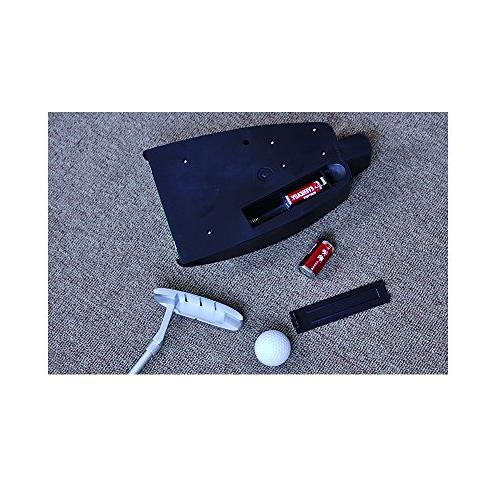 LEAGY Travel Practice with Case Indoor Yard, Golfer Kids Toy Indoor Games Ball Alloy Putter Best