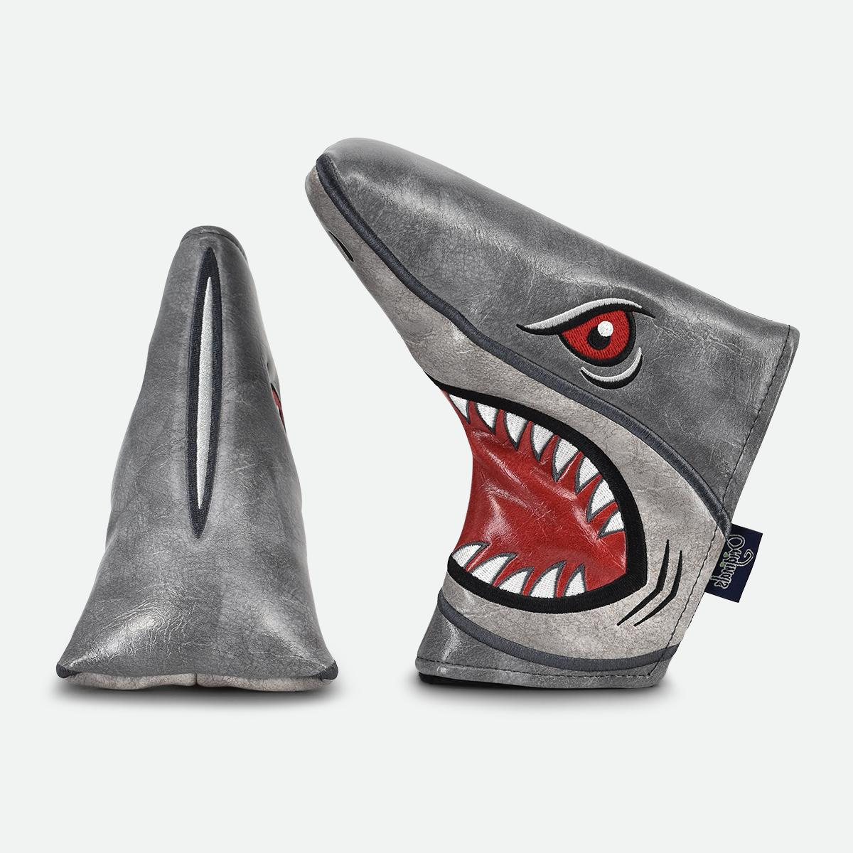 prg originals shark attack blade putter cover