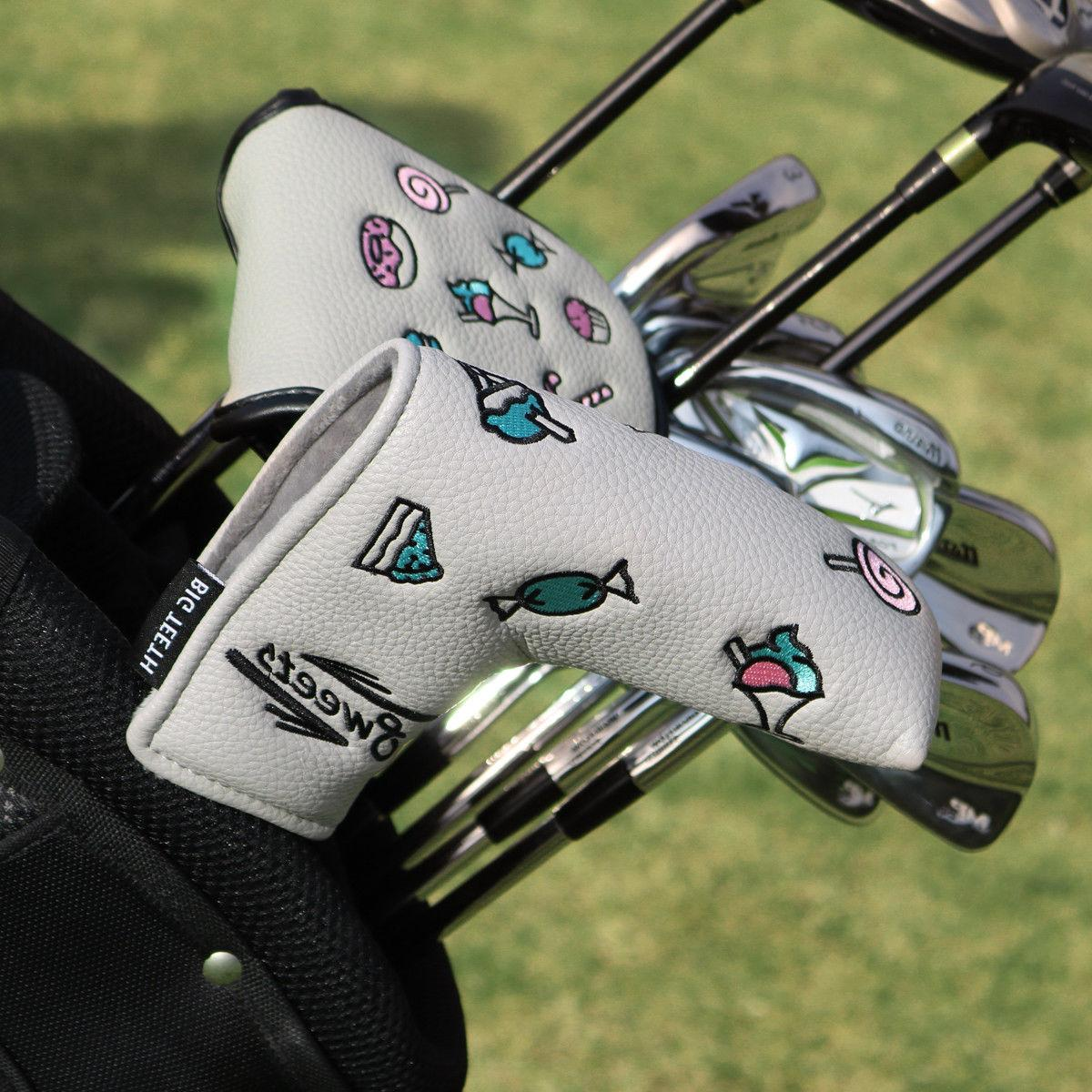 Putter Cover Scotty Cameron Blade New magnetic Big Teeth