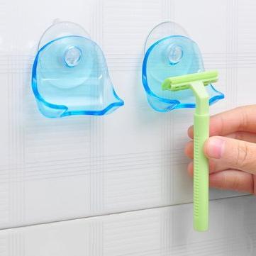 razor holder bathroom storage organisation
