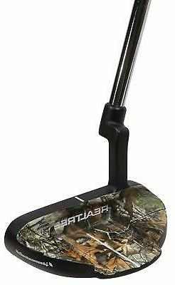 Realtree Xtra Putter, Right Hand, 34-Inch, Steel, 25-Degree