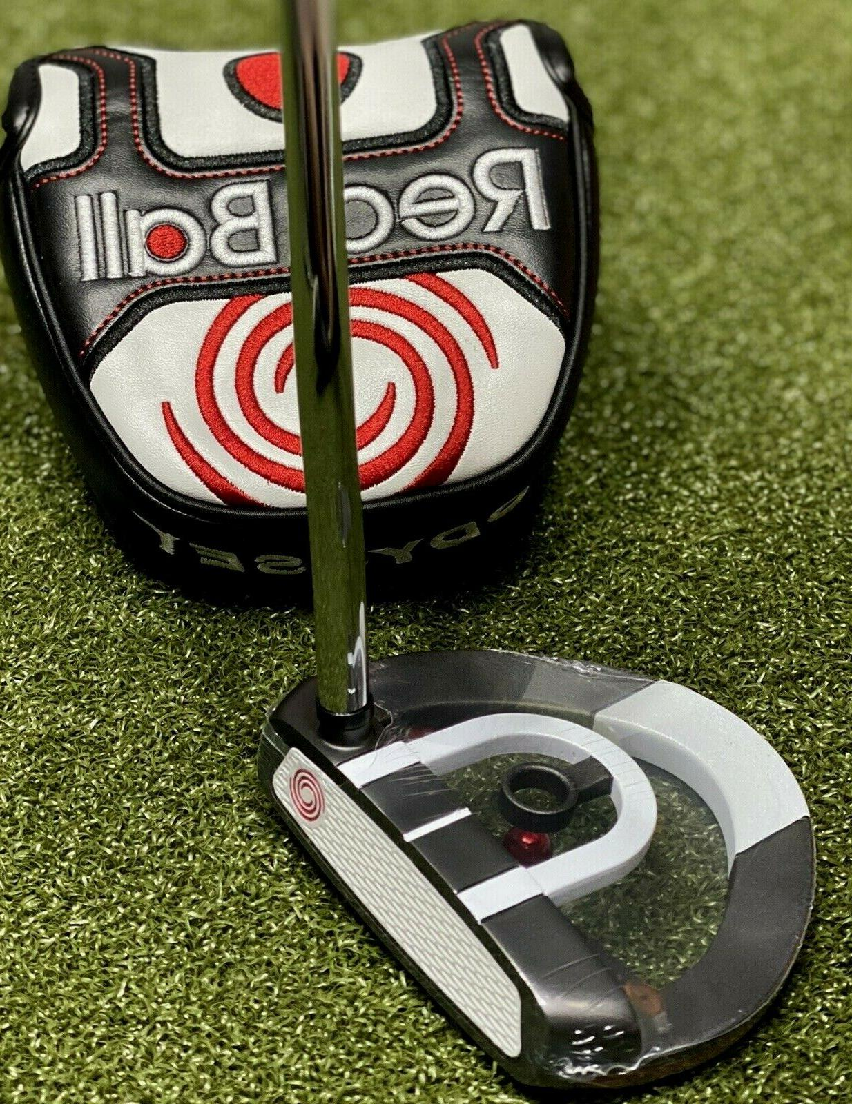 red ball mallet putter right hand 34