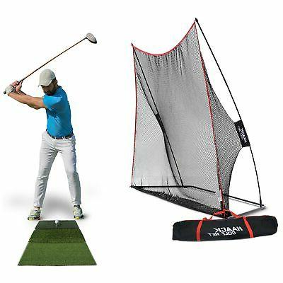 rukket haack golf net 10x7 bundle