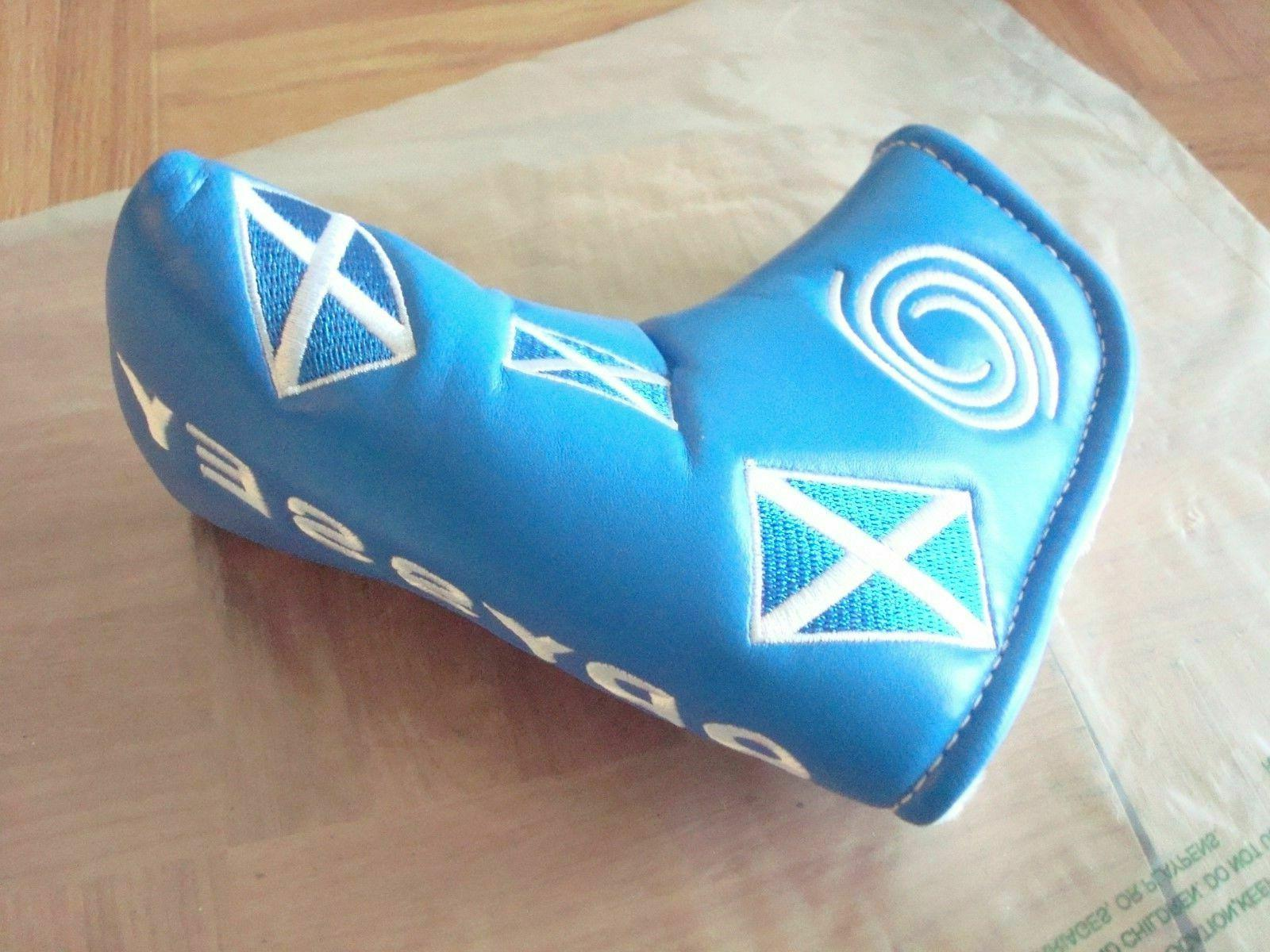ODYSSEY SCOTLAND BLADE HEADCOVER - FLAG - MAGNETIC NEW