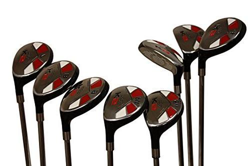 senior golf hybrid complete set