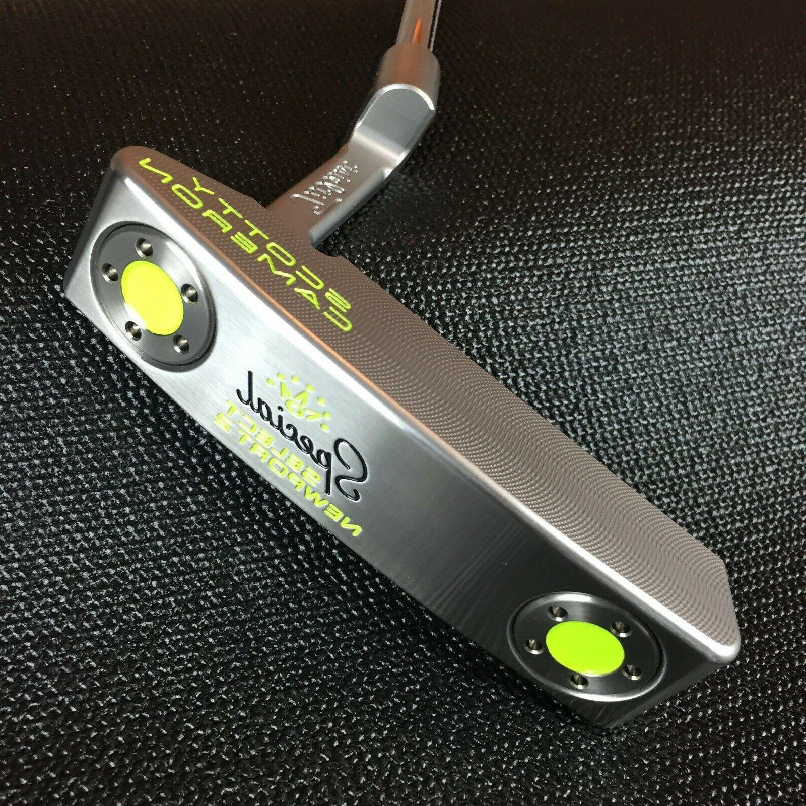 Scotty Special Newport 2 Custom Lime