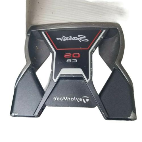 """Taylormade Spider OS CB Putter 36"""" SuperStroke Long Grip 2.0"""
