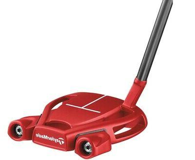 putter spider tour red t