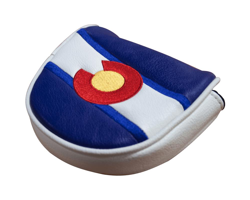 team colorado mallet putter cover with magnetic