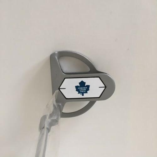 toronto maple leafs hockey golf putter left