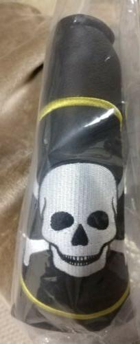 Piretti TOUR ONLY Skull & Crossbones Putter Headcover - Bran