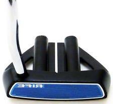 Rife Two Bar Hybrid Mallet Heel Shafted Putter Black
