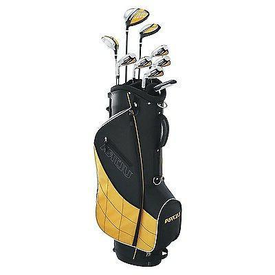 Wilson 9 Piece Golf Stand, Yellow