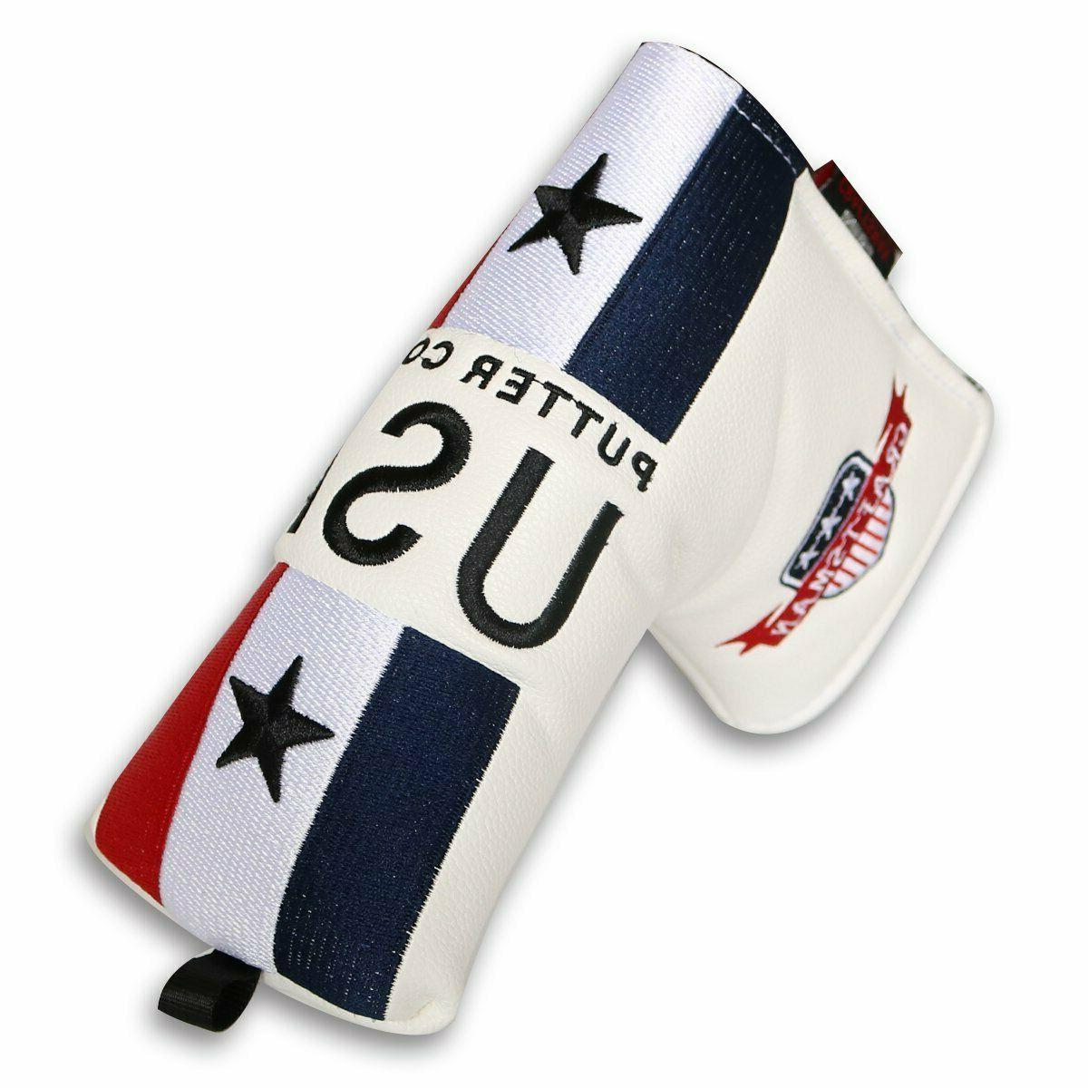 usa blade putter cover magnetic headcover