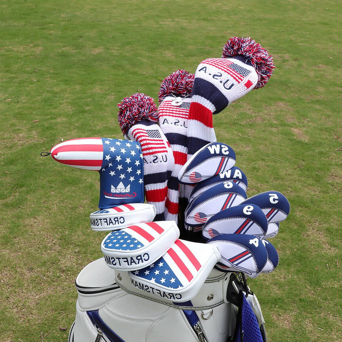 USA GOLF Blade Headcover For New