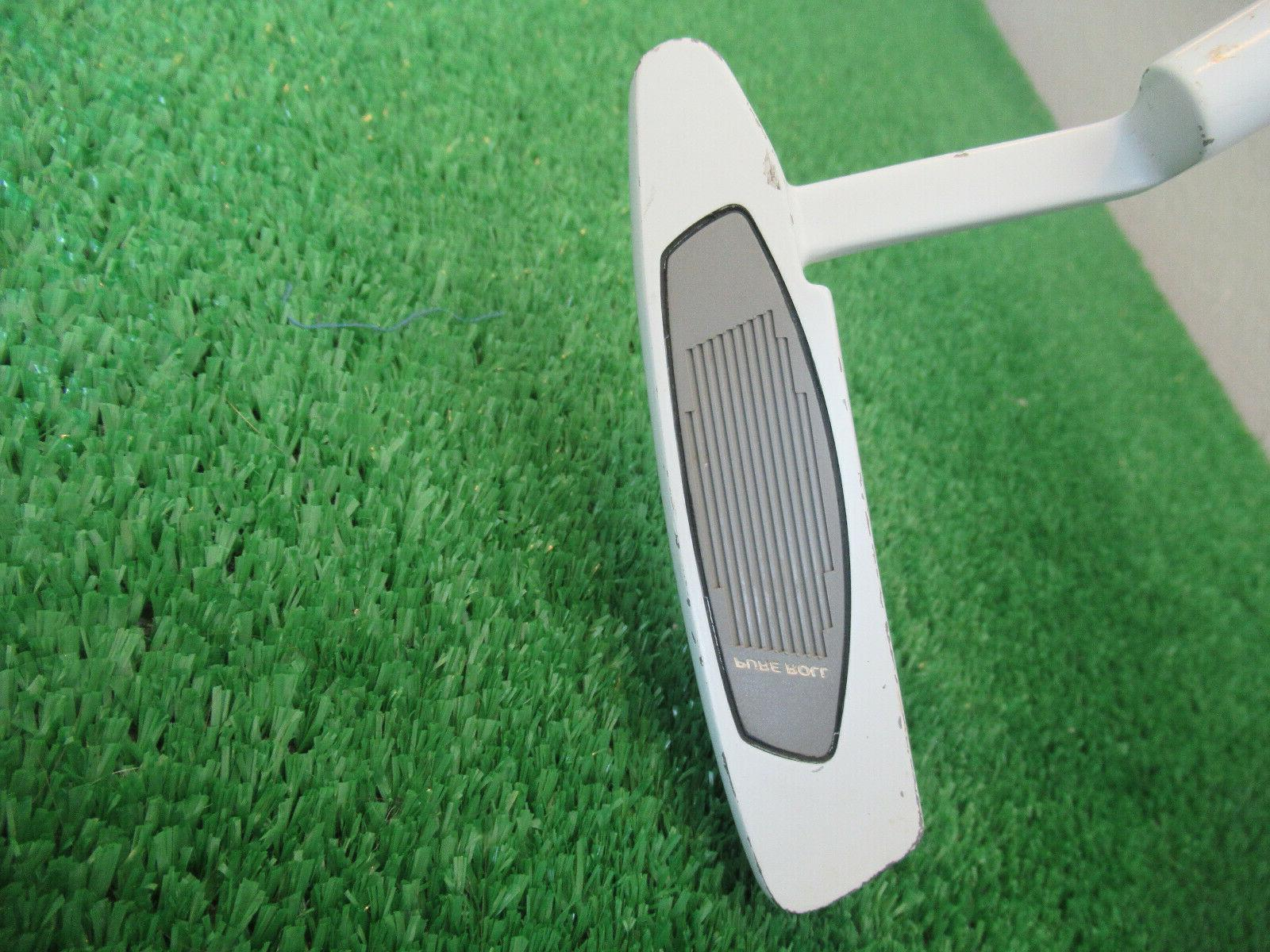 TAYLORMADE WHITE IN-12 PUTTER STEEL GOOD