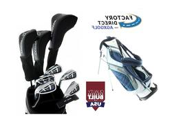 AGXGOLF LADIES RIGHT HAND TALL MAGNUM COMPLETE GOLF CLUB SET
