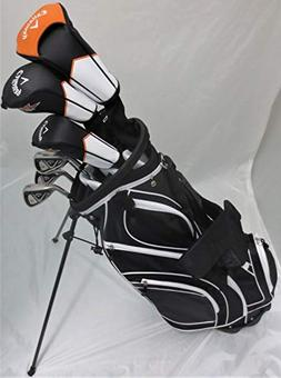 Callaway Mens Left Handed Golf Set Regular Flex Complete Dri