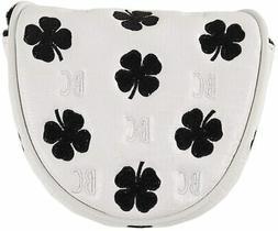 Black Clover Lizard Luck Mallet Putter Headcover - White/Bla