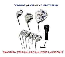 AGXGOLF Men's Magnum XS Complete Golf Set w460 Dr +Hybrid+5-