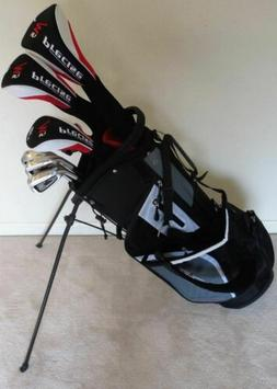 Mens Left Handed Golf Club Full Set Driver, Wood, Hybrid, Ir