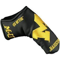 Team Effort Michigan Wolverines Black Blade Putter Cover