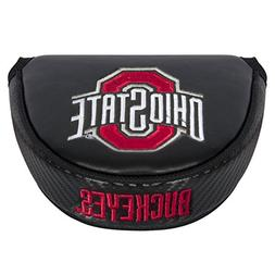 Team Effort NCAA Ohio State Buckeyes Mallet Putter Coverblac