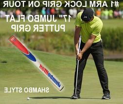 """NEW 17"""" SUPERSTROKE 17"""" long golf putter grip black/white sh"""
