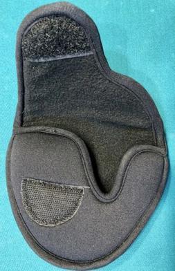 New Black Mallet Putter Cover Soft Neoprene Fleece Inside Du