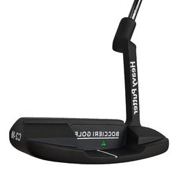NEW Boccieri HEAVY PUTTER C2 Mid Weight Black Blade Counterb