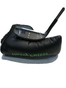"NEW Boccieri HEAVY PUTTER M4 Lite Weight Black Blade 35"" C"