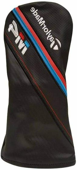 New TaylorMade Golf 2018 M4 Fairway Wood Head Cover - Black/