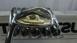 New Wilson Golf C300 Forged Irons 5-PW KBS Tour 105 Steel Sh