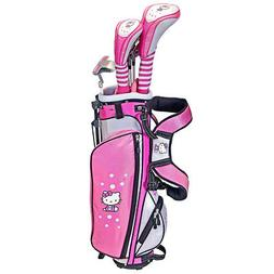 NEW Hello Kitty Golf Junior Girls Set w Driver, Hybrid, Iron