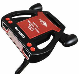 New Ray Cook Golf- LH Silver Ray Select SR550 Black Putter 3