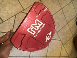 "NEW! Ray Cook Golf  M1 Red 35"" Putter w/ HC"