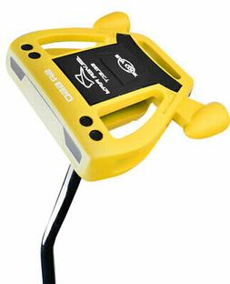 New Ray Cook Golf- Silver Ray Select SR550 Yellow Putter 35""