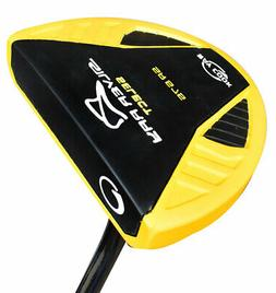 """New Ray Cook Golf- Silver Ray SR575 Yellow Putter 35"""""""