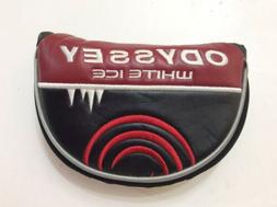 NEW Odyssey Golf White Ice Mallet Putter Cover